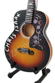 Miniature Guitar Chris Isaak J-200