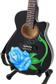 Miniature Acoustic Guitar Bret Michaels