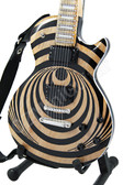Miniature Guitar Zakk Wylde LP Custom VERTIGO