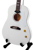 Miniature Guitar 70th Anniversary JOHN LENNON The Beatles Imagine Model
