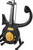 Miniature Guitar Prince Black Symbol