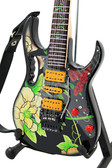 Miniature Guitar STEVE VAI Flower Cut Out III