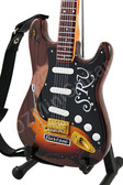 Miniature Guitar Stevie Ray Vaughan Tribute