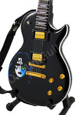 Miniature Guitar Ace Frehley KISS Black LP