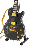 Miniature Guitar Paul Stanley KISS Black LP