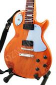 Miniature Guitar BOB MARLEY Les Paul Special