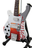 Miniature Guitar Paul McCartney THE BEATLES Psychedelic Bass