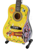 Miniature Guitar BEATLES Yellow Submarine