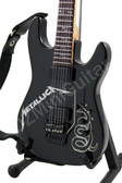 Miniature Guitar METALLICA Black Custom ESP