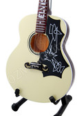 Miniature Acoustic Guitar Elvis Presley