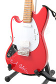 Miniature Guitar Kurt Cobain NIRVANA Red Lefty