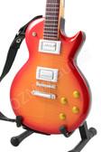 Miniature Guitar Honey Burst Flame Les Paul