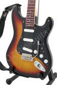 Miniature Guitar Strat Sunburst