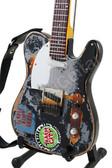 Miniature Guitar Joe Strummer THE CLASH