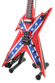 Miniature Guitar Dimebag USA Rebel Razorback