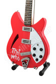 Miniature Guitar Pete Townshend THE WHO Red
