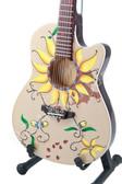 Miniature Acoustic Guitar INDIA ARIE