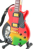 Miniature Guitar Bob Marley SMOKE Les Paul