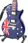 Miniature Guitar Les Paul United Kingdom Flag
