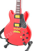 Miniature Guitar BB King Lucille Cherry