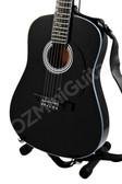 Miniature Acoustic Guitar Black