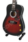 Miniature Guitar John Lennon THE BEATLES Acoustic Sunburst J-200