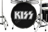 KISS Miniature Drum Set