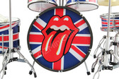 ROLLING STONES Miniature Drum Set