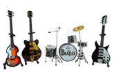 The BEATLES Miniature Guitars and Drum Mega Set