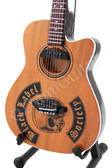 Miniature Acoustic Guitar Zakk Wylde Black Label Society