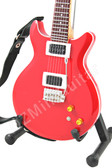 Miniature Guitar Carlos Santana Red