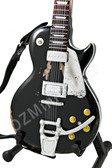 Miniature Guitar Les Paul Gold Top NEIL YOUNG Old Black