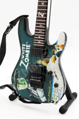 Miniature Guitar Kirk Hammett Metallica White Zombie