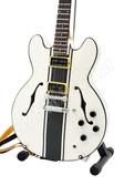 Miniature Guitar Tom DeLonge Blink-182 ES-333 Signature White