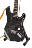 Miniature Guitar Tom DeLonge Blink-182 Strat Black