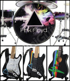 PINK FLOYD Miniature Guitars and Drum Mega Set