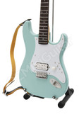 Miniature Guitar Tom DeLonge Blink-182 Surf Green Strat