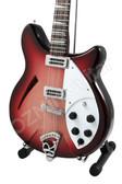 Miniature Guitar George Harisson THE BEATLES 360 12 String