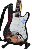 Miniature Guitar Art Series ALICE COOPER I