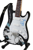 Miniature Guitar Art Series ALICE COOPER II