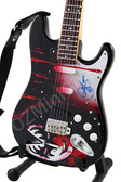 Miniature Guitar Art Series Gene Simmons KISS