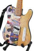 Miniature Guitar Art Series PINK FLOYD Back Catalogue