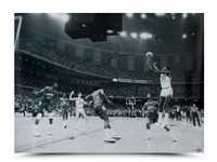 MICHAEL JORDAN Signed 1982 Championship Shot 40x30 Photo.