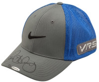 RORY McILROY Autographed Grey & Blue Nike Hat UDA LE 25