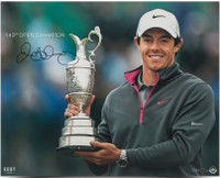 "RORY McILROY Autographed ""143rd Open Championship"" 16 x 20 Photograph UDA LE 25"