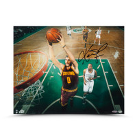 KEVIN LOVE Autographed Fast Break Jam Photo UDA