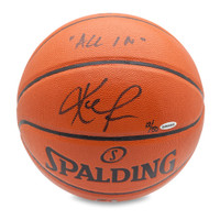 KEVIN LOVE Autographed & Inscribed Replica Basketball UDA LE 50