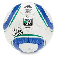LANDON DONOVAN AUTOGRAPHED ADIDAS REPLICA MLS MATCH BALL UDA LE 10