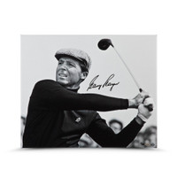 GARY PLAYER AUTOGRAPHED UP CLOSE & PERSONAL 20X24 CANVAS UDA LE 25