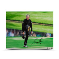 GARY PLAYER AUTOGRAPHED THE KICK PHOTO UDA LE 25